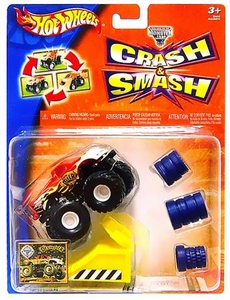 Hot Wheels Mattel Smash & Crash Monster Jam Destroyer