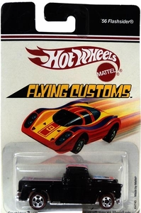 Hot Wheels Mattel Die Cast Car Flying Customs '56 Flashsider