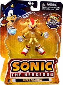 Sonic the Hedgehog 3.5 Inch Action Figure Super Shadow