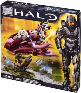 Halo Mega Bloks Set #97110 Covenant Spectre Ambush