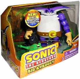Sonic the Hedgehog Action Figure 2-Pack Big & Froggy