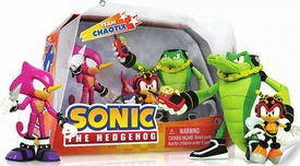 Sonic the Hedgehog Action Figure 3-Pack Team Chaotix [Charming Bee, Espio & Vector]