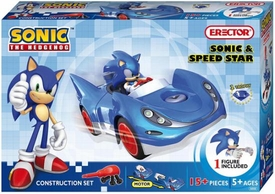 Sonic The Hedgehog Erector Construction Set #5600 Sonic & Speed Star