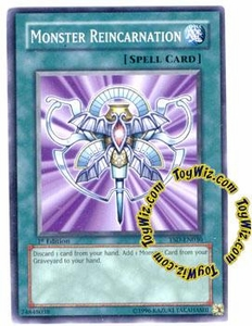 YuGiOh GX Starter Deck 2006 Single Card Common YSD-EN030 Monster Reincarnation