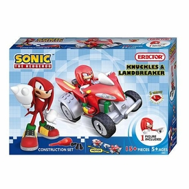 Sonic The Hedgehog Erector Construction Set #5601 Knuckles & Landbreaker