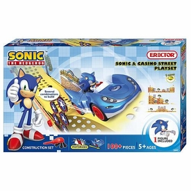 Sonic The Hedgehog Erector Construction Set #6600 Sonic & Casino Street