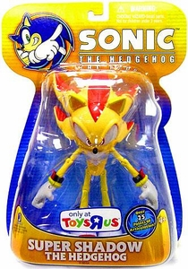 Sonic the Hedgehog Exclusive 5 Inch Action Figure Super Shadow {Yellow Version} [Over 25 Points of Articulation!]