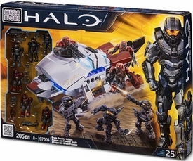 Halo Mega Bloks Exclusive Set #97004 Brute Prowler Attack