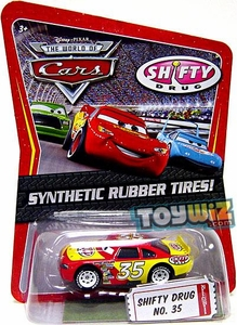 Disney / Pixar CARS Movie Exclusive 1:55 Die Cast Car with Synthetic Rubber Tires Shifty Drug