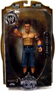 WWE Wrestlemania 25 Series 3 Action Figure John Cena