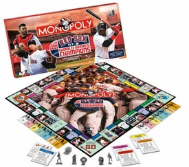 Monopoly Board Game Set 2007 Boston Red Sox World Series Champions Collector's Edition