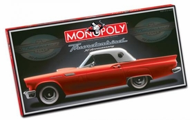 Monopoly Board Game Set Thunderbird 50th Anniversary Edition