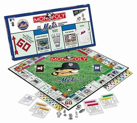 Monopoly Board Game Set New York Mets Collector's Edition