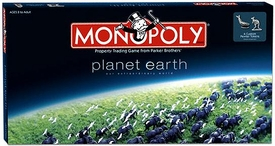 Monopoly Board Game Set Planet Earth Edition