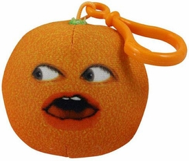 Annoying Orange Take-Alongs 2 1/4 Inch Talking Plush Clip-On Whoa Orange