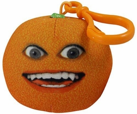 Annoying Orange Take-Alongs 2 1/4 Inch Talking Plush Clip-On Smiling Orange