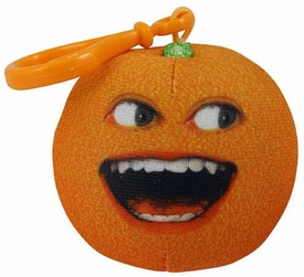 Annoying Orange Take-Alongs 2 1/4 Inch Talking Plush Clip-On Laughing Orange BLOWOUT SALE!