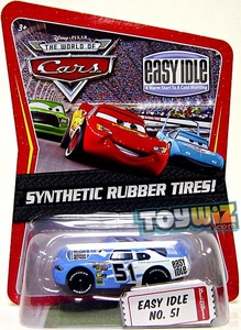Disney / Pixar CARS Movie Exclusive 1:55 Die Cast Car with Synthetic Rubber Tires Easy Idle
