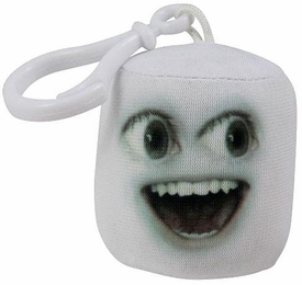 Annoying Orange Take-Alongs 2 1/4 Inch Talking Plush Clip-On Marshmallow
