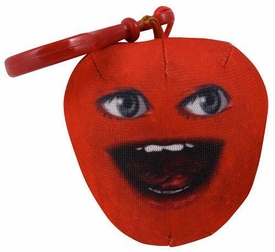 Annoying Orange Take-Alongs 2 1/4 Inch Talking Plush Clip-On Midget Apple