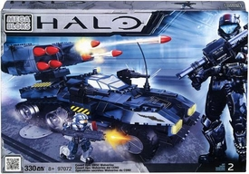 Halo Mega Bloks Exclusive Set #97072 Covert Ops: UNSC Wolverine