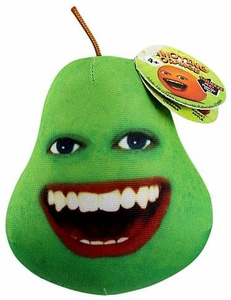 Annoying Orange 3 1/2 Inch Talking Plush Figure Pear
