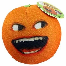 Annoying Orange 3 1/2 Inch Talking Plush Figure Laughing Orange
