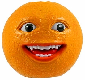 Annoying Orange 2 1/2 Inch Talking PVC Figure Smiling Orange BLOWOUT SALE!