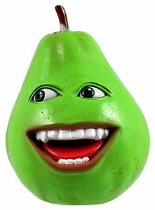 Annoying Orange 2 1/2 Inch Talking PVC Figure Pear