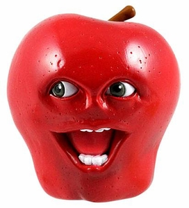 Annoying Orange 2 1/2 Inch Talking PVC Figure Midget Apple
