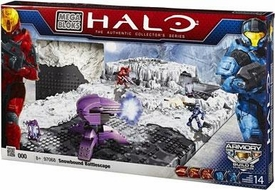 Halo Mega Bloks Exclusive Set #97068 Versus: Snowbound Battlescape