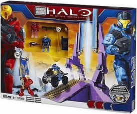 Halo Mega Bloks Exclusive Set #97069 Versus: Snowbound Highbase