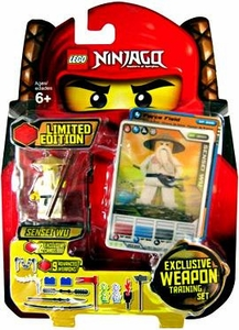 LEGO Ninjago Limited Edition Set #853111 Sensei Wu [9 Exclusive Weapons Training Set!]