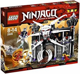LEGO Ninjago Set #2505 Garmadon's Dark Fortress