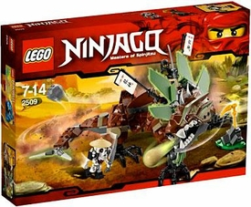 LEGO Ninjago Set #2509 Earth Dragon Defense
