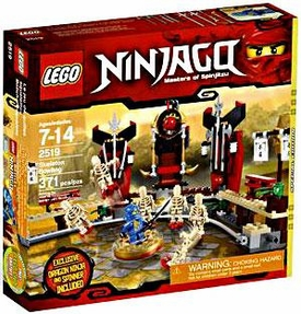 LEGO Ninjago Exclusive Set #2519 Skeleton Bowling [Jay Dragon Ninja Mini Figure & Spinner!]