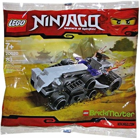 LEGO Ninjago Brickmaster Exclusive Mini Figure Set #20020 Mini Turbo Shredder [Bagged]