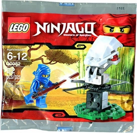 LEGO Ninjago Exclusive Mini Figure Set #30082 Ninja Training with Jay [Bagged]