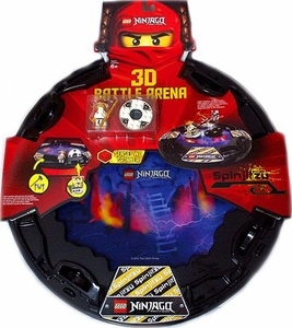 LEGO Ninjago Exclusive Set #853106 Spinjitzu 3D Battle Arena [Sensei Wu Mini Figure & Spinner!]