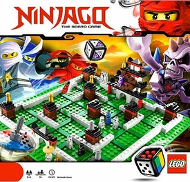 LEGO Ninjago Set #3856 Ninjago The Board Game