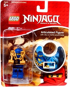 LEGO Ninjago Articulated Figure with Clip-On Battle Sound Base Jay