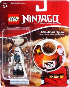 LEGO Ninjago Articulated Clip-On Figure with Battle Sound Frakjaw