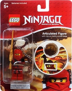 LEGO Ninjago Articulated Clip-On Figure with Battle Sound Kai