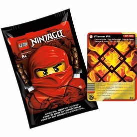 LEGO Ninjago Special Edition Pack with Flame Pit Foil Card