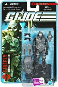 GI Joe Pursuit of Cobra 3 3/4 Inch Action Figure Firefly [Cobra Saboteur]