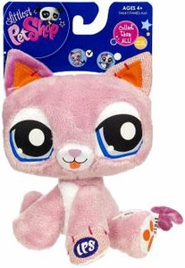 Littlest Pet Shop 5 Inch Plush Pet Figure Pink Kitty