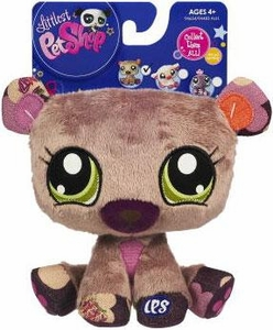 Littlest Pet Shop 5 Inch Plush Pet Figure Bear