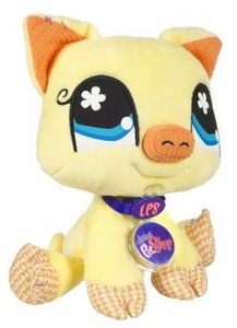 Littlest Pet Shop VIP Virtual Interactive Pet Plush Figure Yellow Pig BLOWOUT SALE!