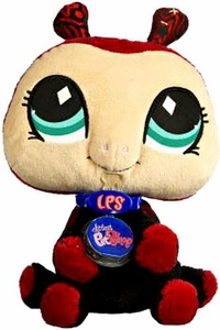 Littlest Pet Shop VIP Virtual Interactive Pet Plush Figure Ladybug