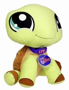 Littlest Pet Shop VIP Virtual Interactive Pet Plush Figure Turtle